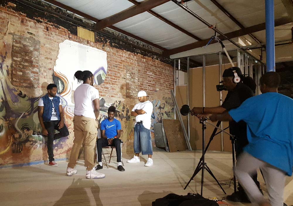 """Pocket Power TV"" allows area youths to pack a strong artistic punch"